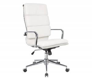 Πολυθρόνα Γραφείου Διευθυντή - PU Άσπρο