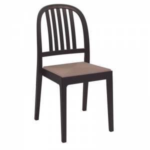 Καρέκλα PP-UV Καφέ