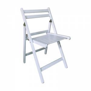 Βοηθ. Καρέκλα Πτυσσόμενη Ξύλο Ευκάλυπτος