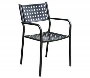 Πολυθρόνα Μέταλλο Βαφή Μαύρο