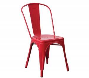 Καρέκλα Μεταλ.Κόκκινη High