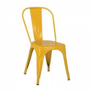 Καρέκλα - Μέταλλο Βαφή Κίτρινο