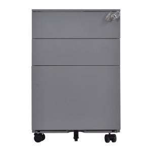 Συρταριέρα Μεταλλική 39x52x60cm Γκρι