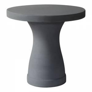 Τραπέζι D.80cm Cement Grey