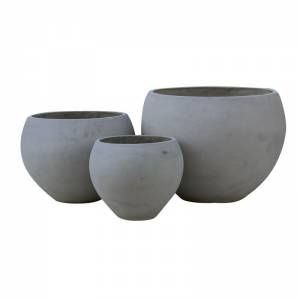 Set 3 τεμαχίων Cement Grey