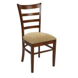 Καρέκλα Καρυδί/Ύφ.Μπεζ