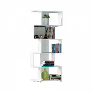 Βιβλιοθήκη-Ραφιέρα 70x23x175cm Άσπρη