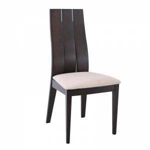 Καρέκλα Οξυά Καρυδί Burn Beech/Ύφ.Μπεζ