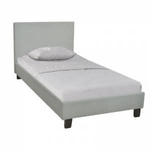 Κρεβάτι Μονό Ύφασμα Grey Stone