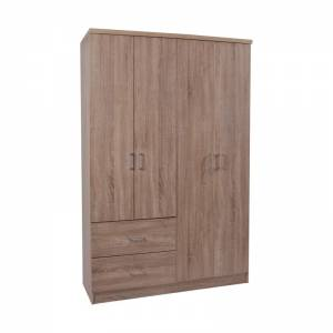 Ντουλάπα 4-πόρτες 119x42x180 Sonoma