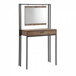Τουαλέτα+Καθρέπτης 84x45x150 Antique Oak