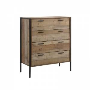 Συρταριέρα 4-Συρτ.84x40x100 Antique Oak