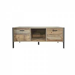 Έπιπλο TV 2-Ντουλ.124x40x50 Antique Oak