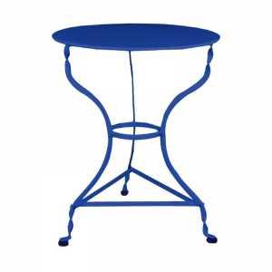 Τραπέζι Μεταλλικό Μπλε