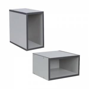 Κουτί 30x30x17cm Γκρι