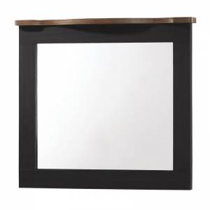 Καθρέπτης 94x80 Antique Oak/Ebony Oak