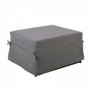 Σκαμπώ-Κρεβάτι Ύφασμα Γκρι
