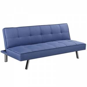 Καναπ.Κρεβάτι Ύφ.Μπλε