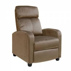 Πολυθρόνα Relax Camel Velure