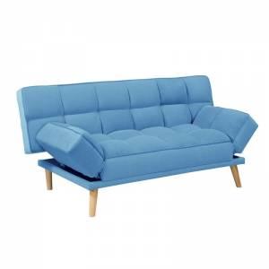 Καναπές / Κρεβάτι Σαλονιού - Καθιστικού / Ύφασμα Μπλε
