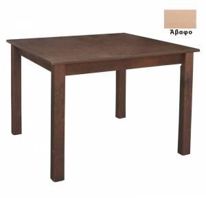 Τραπέζι Κ/Π Λυόμενο Άβαφο