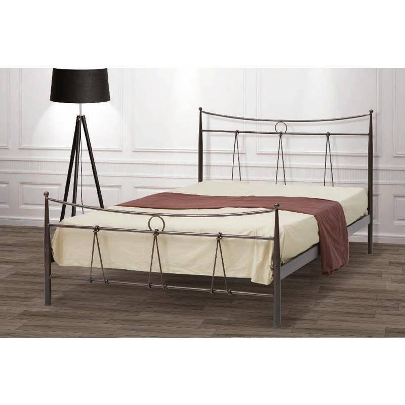 Δίας Κρεβάτι Μονό Μεταλλικό 90x190cm