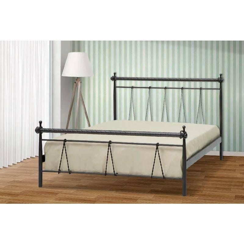 Ηρα Κρεβάτι Μονό Μεταλλικό 90x190cm