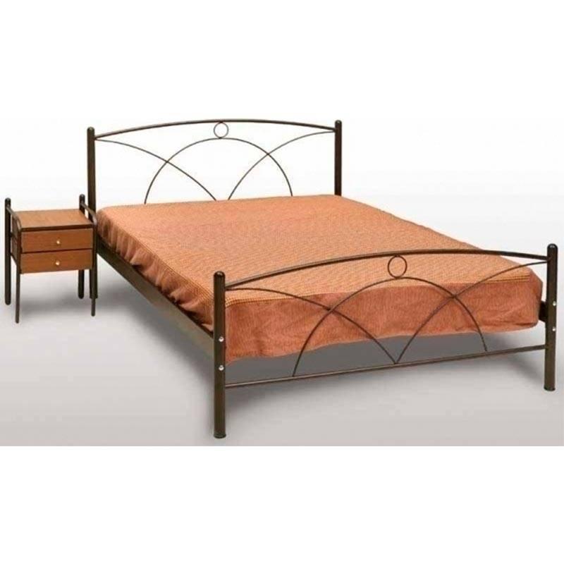 Νάξος Κρεβάτι Διπλό Μεταλλικό