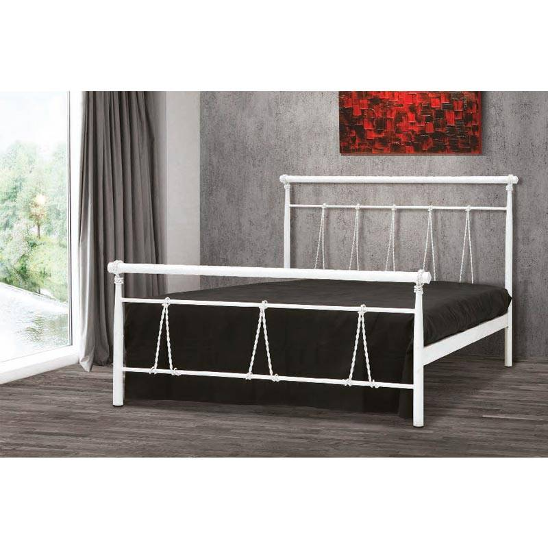 Θηλιά Κρεβάτι Μονό Μεταλλικό 90x190cm