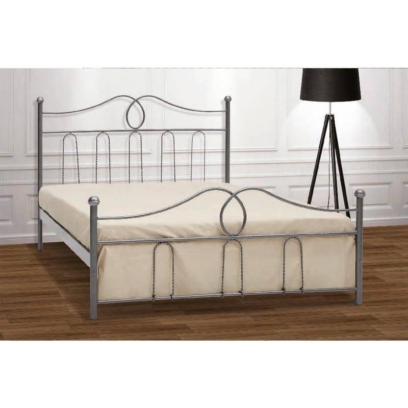 Καμπάνα Κρεβάτι Μονό Μεταλλικό 90x190cm