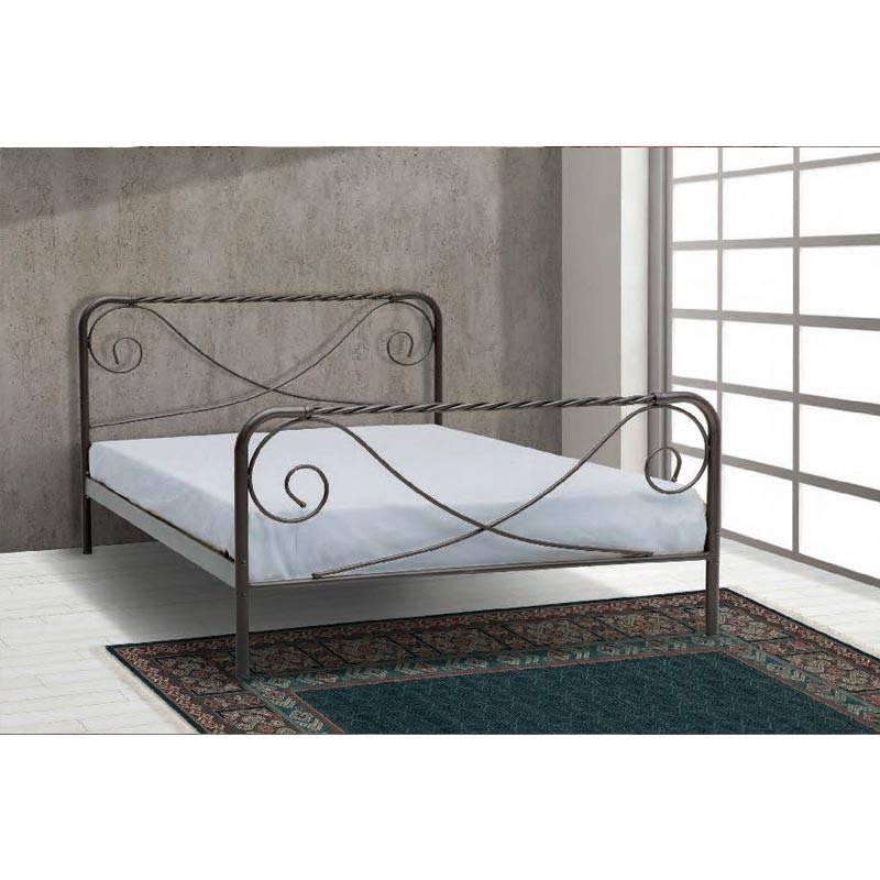 Θέτιδα Κρεβάτι Μονό Μεταλλικό 90x190cm