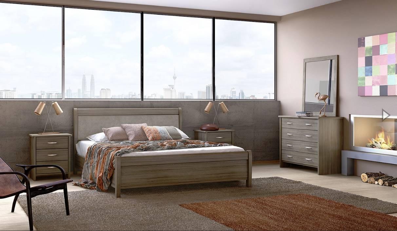 Κρεβάτι Νο26A Μόκα