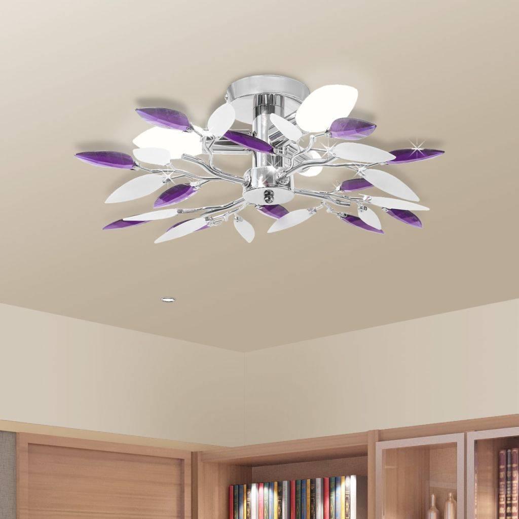 Φωτιστικό Οροφής με Βραχίονες - Φύλλα