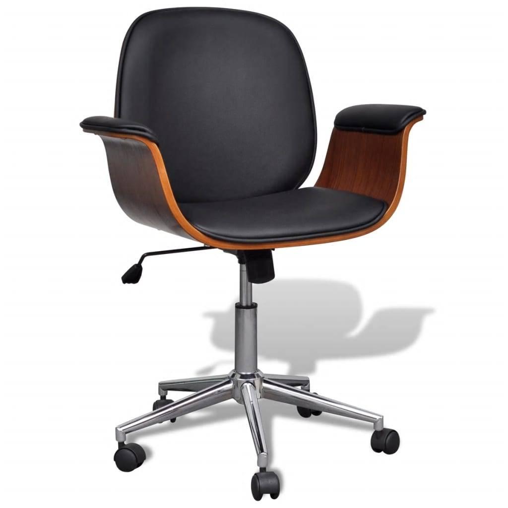 Καρέκλα γραφείου Περιστρεφόμενη Συνθετικό δέρμα Ρυθμιζόμενη