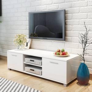 7c9460cbee Έπιπλο Τηλεόρασης Γυαλιστερό Λευκό 120 x 40
