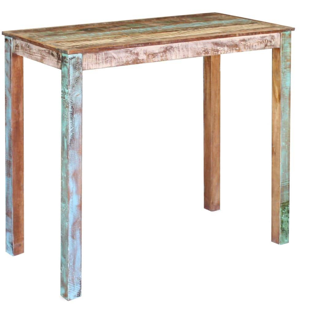 Τραπέζι Μπαρ 115 x 60 x 107 εκ. από Μασίφ Ανακυκλωμένο Ξύλο