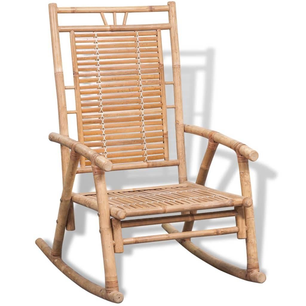 Κουνιστή Πολυθρόνα από Μπαμπού