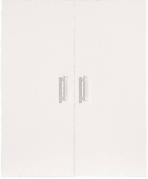 Σετ 2 πόρτες βιβλιοθήκης Sorel-Λευκό