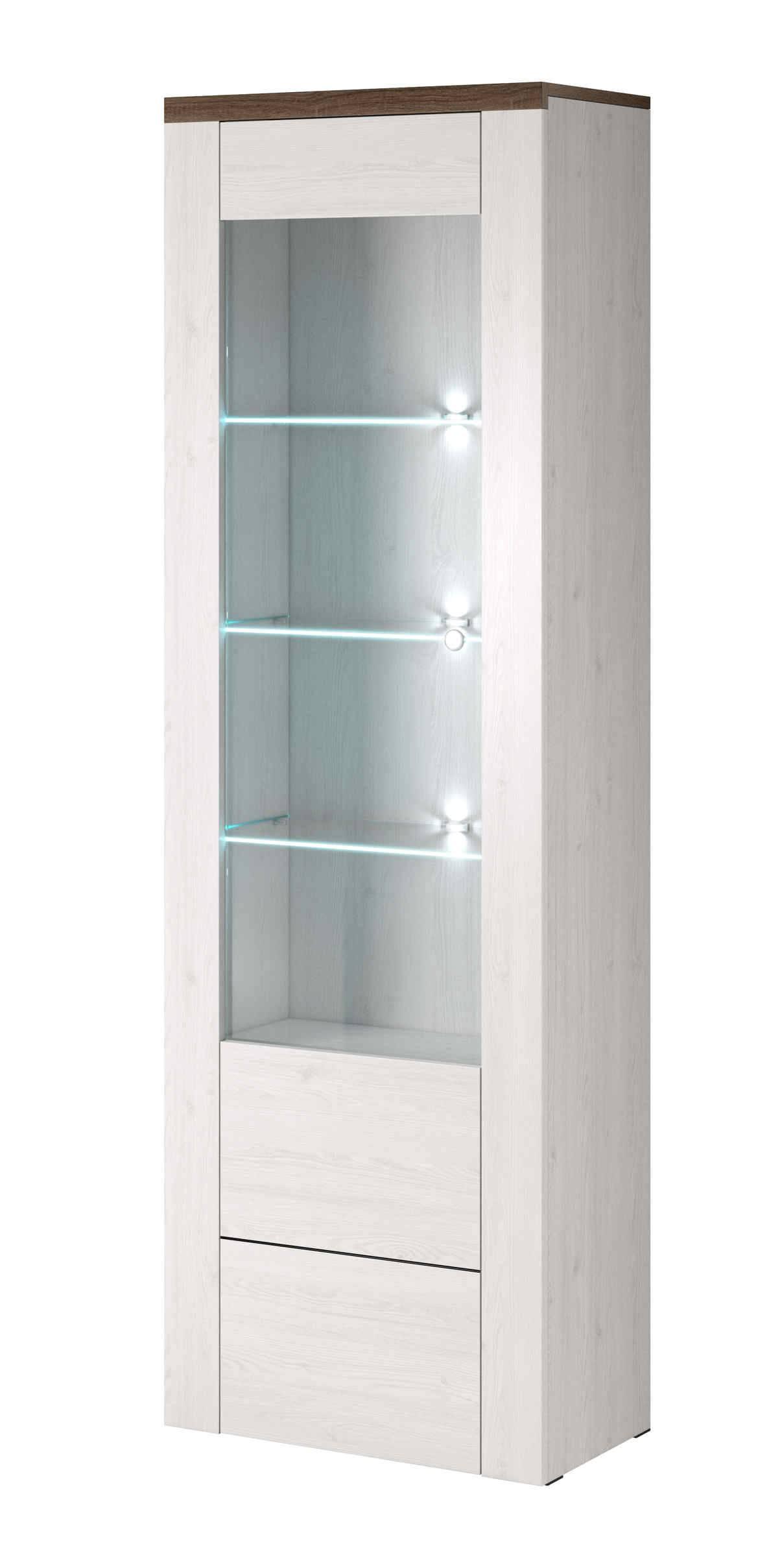 Βιτρίνα Lark 5-Λευκό