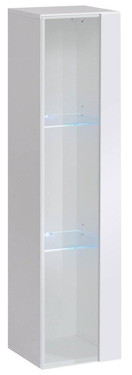 Κρεμαστή Βιτρίνα Swiss II-Λευκό