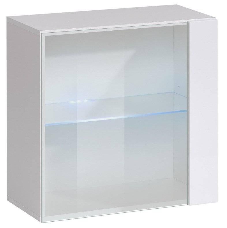 Κρεμαστή Βιτρίνα Swiss III-Λευκό