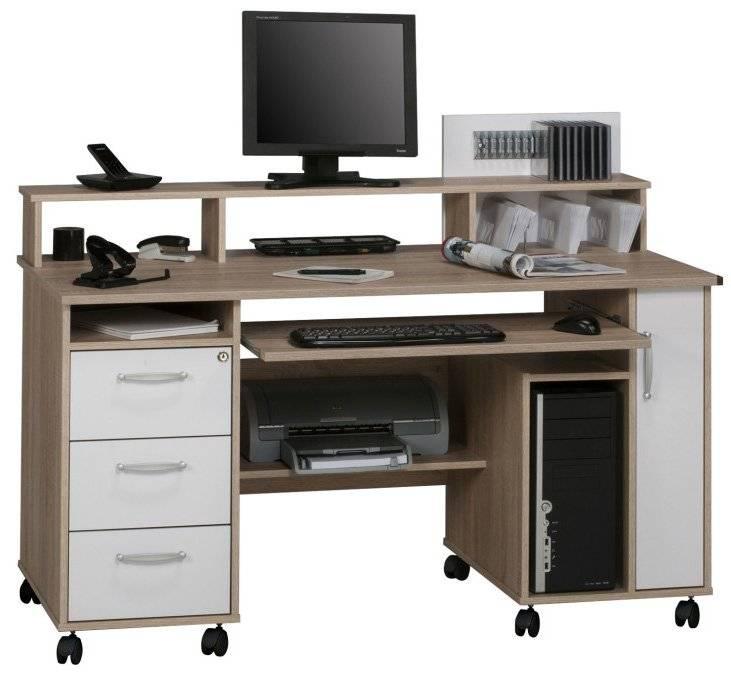 Γραφείο Edel-Φυσικό - Λευκό