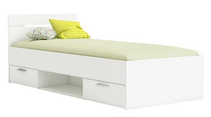 Κρεβάτι Ohio-Λευκό-90 x 200
