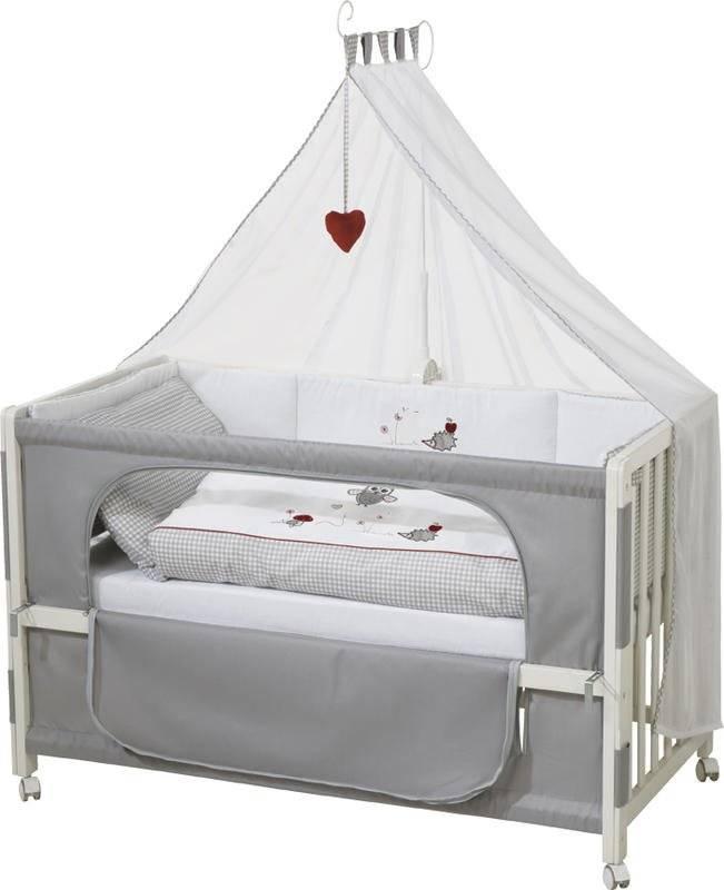 Πλήρες βρεφικό κρεβάτι Happy Owl