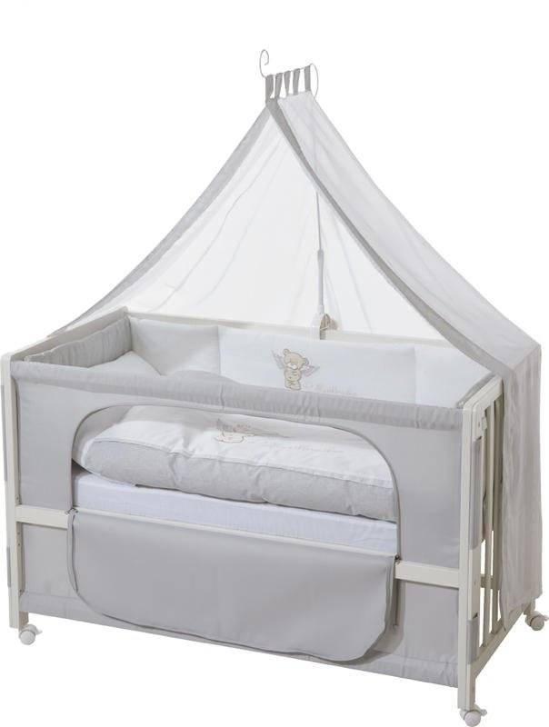 Πλήρες βρεφικό κρεβάτι Angel bear