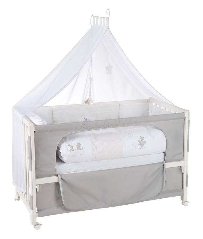 Πλήρες βρεφικό κρεβάτι Little Bunnies