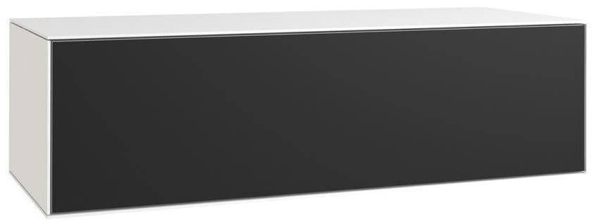 Οριζόντια στήλη Sound κρεμαστή-Λευκό - Μαύρο