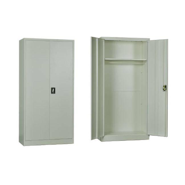 ΝΤΟΥΛΑΠΑ Μεταλλική 90x45x185cm Λευκή