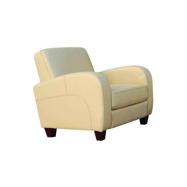 Πολυθρόνα PU Μπεζ 87x80x83cm