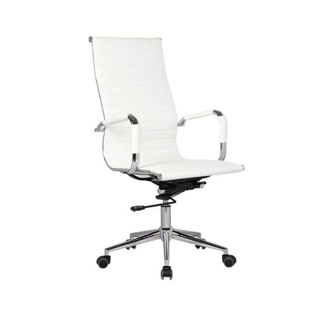 Πολυθρόνα Διευθ.Λευκή